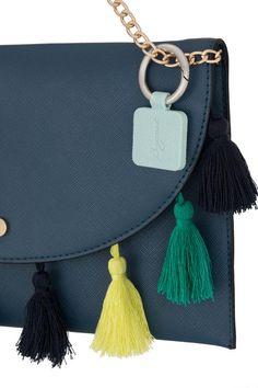 Watercolor USA Flag Everything Purse Hanger Handbag Hook Retractable Folding
