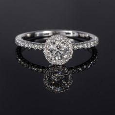 Forevermark The Center of My Universe White Gold Diamond ring