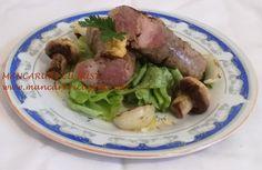 Carnati macelaresti de casa la gratar Pork, Beef, Salads, Kale Stir Fry, Meat, Pork Chops, Steak