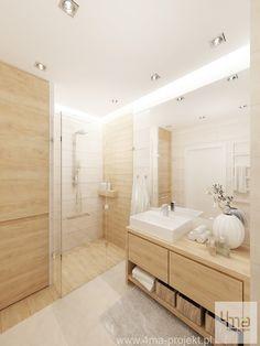 Strefa dzienna i łazienka | 4ma projekt | Architekt, projektant, projektowanie wnętrz Warszawa