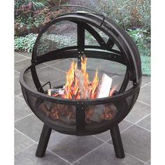 Ball Of Fire Landmann Fire Pits Grills & Fire Pits Outdoor...looking forward to this in our back yard this week =)