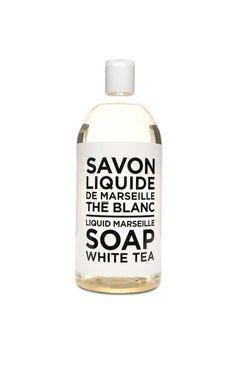 Handtvål Refill - White Tea - Savon de Marseille - Designers - Raglady