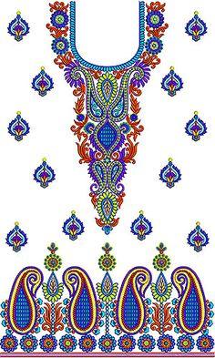Beautiful Boho Touch Embroidery Dress Design