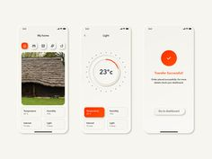 Neumorphic UI Kit for Sketch - Freebie Supply Ui Elements, Design Elements, Card Ui, Ios Ui, Temperature And Humidity, Cool Sketches, User Interface Design, Ui Kit, Mobile Ui