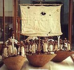 Boats from the tomb of Meketre