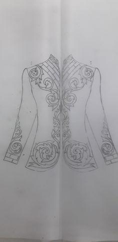 Hand Embroidery Design Patterns, Irish Crochet Patterns, Textile Pattern Design, Sewing Patterns, Tambour Embroidery, Embroidery Motifs, Embroidery Fashion, Beaded Embroidery, Knitting Paterns