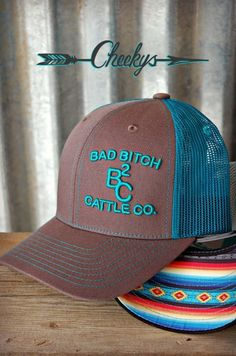 BB Cattle Company Gunsmoke & Patina Serape Cap with Patina Embroidery O Cowboy, Cowgirl Hats, Western Hats, Cowgirl Outfits, Cowgirl Style, Western Outfits, Western Wear, Cowgirl Clothing, Country Hats