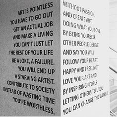 read a little deeper  #art #passion #love #work #job #sculpture #painting #draw #like #share #want #photography #photooftheday #photo #arte #deep #think #museum #failure #society #people #inspiration #public