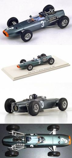 Formula 1 Cars 180270: Spark S1858 1 43: Brm P261 #3 Graham Hill Winner Monaco Gp 1965 2Nd In World Ch. -> BUY IT NOW ONLY: $69 on eBay!