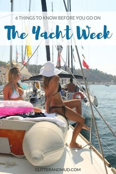The Truth About Yacht Week: 6 things to know before you go. I loved Yacht Week Greece but these were things I wish I would have know prior to booking. Free Travel, Budget Travel, Travel Advice, Travel Tips, Boat Cleaning, Restaurant Drinks, Yacht Week, Small Sailboats, Living In Europe