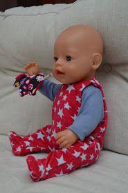 Puppenkleidung 43 cm, Puppenstrampler, Strampler für Puppen 43 cm, Puppenshirt, T-shirt für Puppen, Puppen Kleidung, Kleidung für Puppe 43 cm