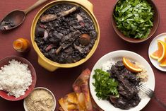 Feijoada, the perfect food on a cold day