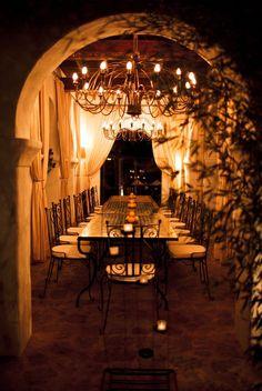Beautiful, romantic lighting... Ibiza Wedding by S6 Photography | Style Me Pretty