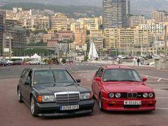 190er Mercedes und E30 M3