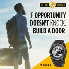Chase Opportunity. #egowatches #gofightyourself #frontier #adventure #friends #discover