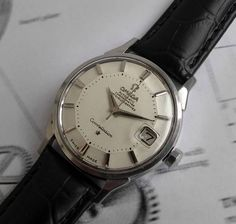SOLD OMEGA CONSTELLATION PIE PAN Gents Automatic Vintage Watch 1963