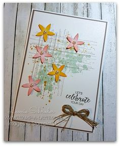 Freshly Brewed Birthday Projects - Stamp A Latte | Stamp A Latte | Bunch of Blossoms