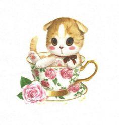 coupon tissu lin, image, patchwork ou scrapbooking, beige, rose, env. 15x15 cm