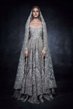 Historical Accuracy Reincarnated - Elan's Swarovski Pakistani Dress - Looks fit for a Medieval Enchantress!