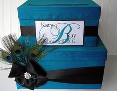 card box...very cute...and the right colors!