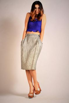 Jones New York 1980's Pencil Skirt