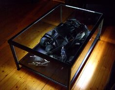 Ikea Granas Coffee Table become awesome Display Case - Sideshow Freaks