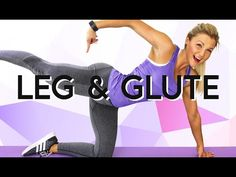 Intense THIGH and BOOTY Homeworkout | Real Time Exercises | Lose thigh fat | Sophia Thiel - YouTube