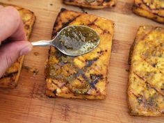 RULE #8: REAPPLY MARINADE AFTER COOKING - How to Grill or Broil Tofu  http://www.seriouseats.com/2015/02/the-food-lab-how-to-grill-tofu-vegan-experience.html