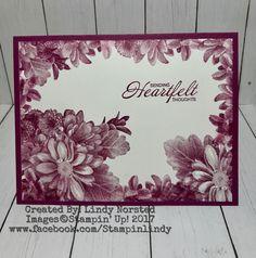 """Loving Stampin' Up! Sale-A-Bration stamp set """"Heartfelt Blooms"""""""