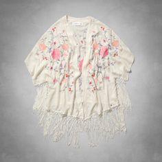 Jody Kimono, $54.40 want it! Abercrombie