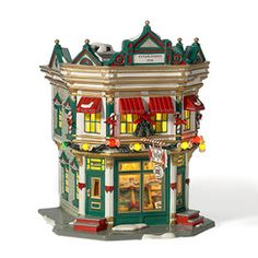 "Department 56: Products - ""The Sweet Shop"" - View Lighted Buildings"