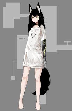 Nobody asked to be put together Nobody asked to be ripped apart. Anime Wolf Girl, Anime Girl Neko, Anime Neko, Manga Anime, Fille Anime Cool, Lolis Neko, Fox Girl, Anime Animals, Anime Outfits