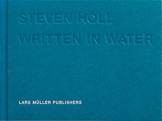 Amazing book of Steven Holl's watercolours, but out of print and now 400 USD