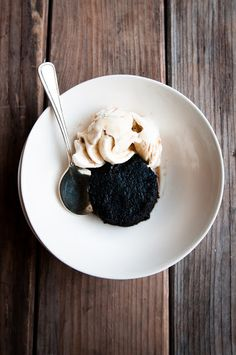 Desserts for Breakfast: Candy Salad and Devil's Food Affogato, and a Simple Halloween Menu