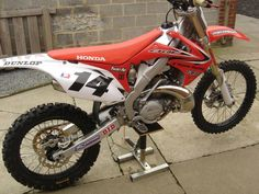 CR250 with CRF plastics