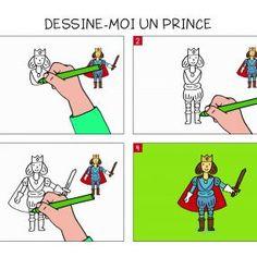 Apprendre à dessiner un prince en 3 étapes