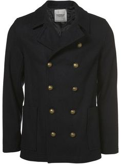 mens navy military pea coat www.phixclothing.com | Mens Style ...