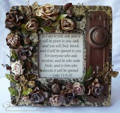 Altered picture frame.