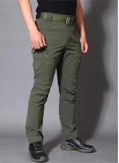 Army Military Pants Cotton Many Pockets Stretch Flexible Man Casual Trousers XXXL Mens Trousers Casual, Khaki Pants, Men's Pants, Business Casual Men, Men Casual, Military Pants, Sperrys Men, Camouflage Pants, Straight Trousers