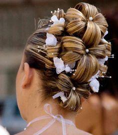 penteado lindo para uma noiva