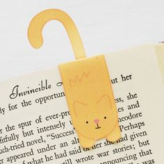 printable kitty magnetic bookmarks (wild olive) - cute & simple project!