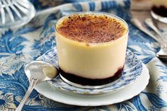 Indulge in the festive season with this special-occasion brandy-laced custard and cherry dessert.