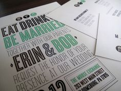 Eat, Drink & Be Married (2) by Texecution, via Flickr