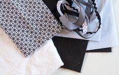 Tuto livre tissus images contrastées : le premier livre pour bébé - Milestory Book Bebe, Images, Baby Sewing, Baby Couture