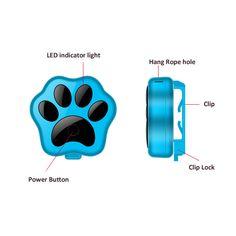 RF-V30 smart wifi anti-lost small waterproof cheap pet gps tracker