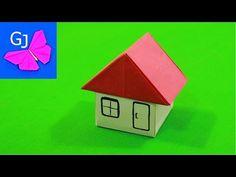 Оригами домик - YouTube