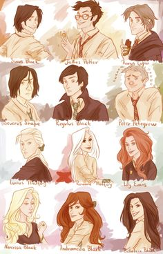 Harry Potter, harry potter, HARRY POTTER!! The Marauder Generation