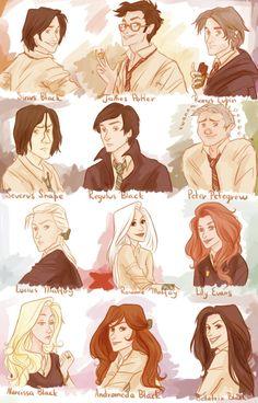 The marauder generation of Harry Potter