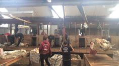 Shearing shed - fitzroy - Falkland Islands