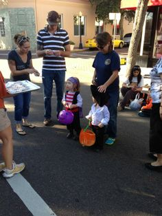 Kids at our Halloween Event in Tarpon Springs